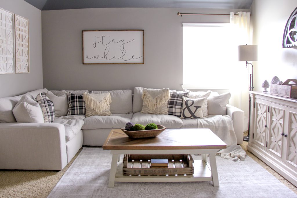 Movie Room Makeover With Ashley Homestore Life By Leanna