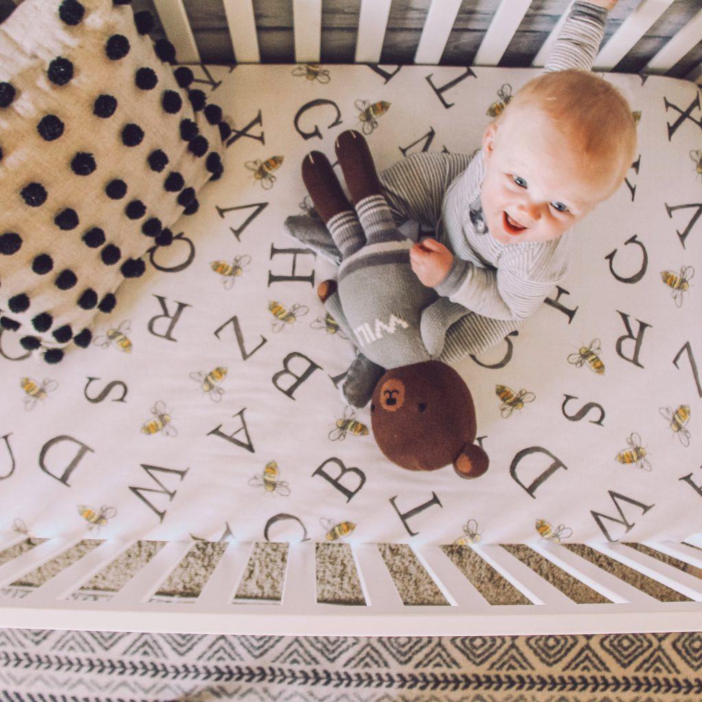gender neutral crib sheet