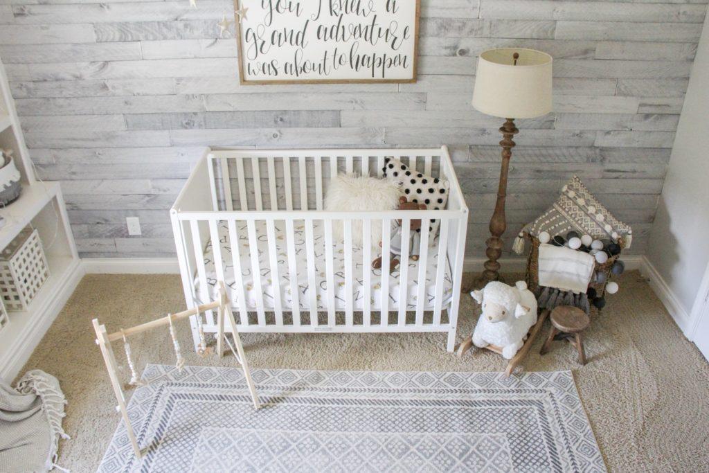 modern gender neutral crib