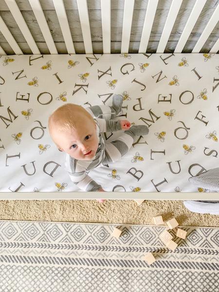 baby boy gender neutral nursery