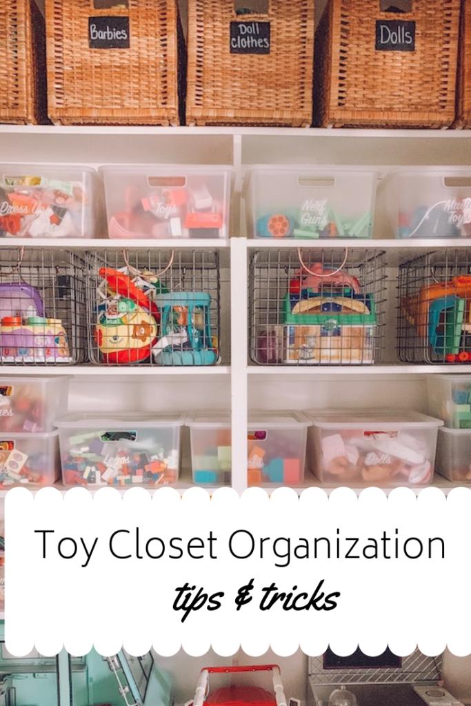 toy closet organization tips and tricks