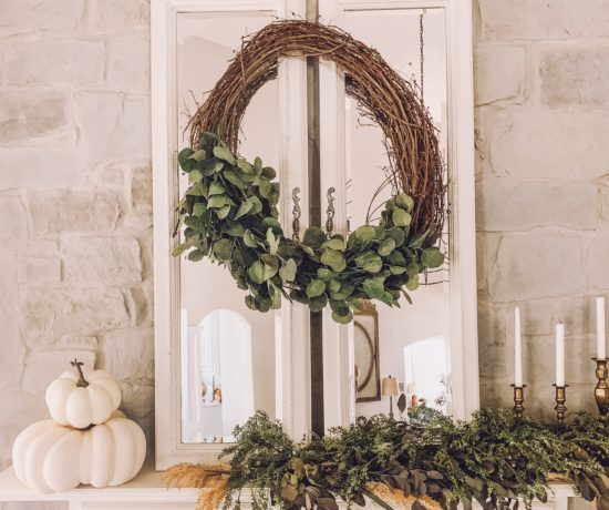 how to make a simple fall wreath