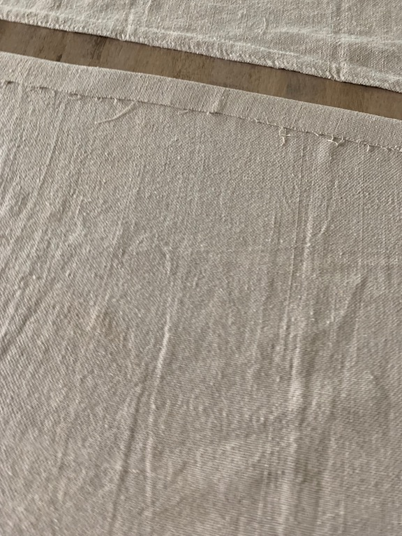 iron drop cloth cafe curtain