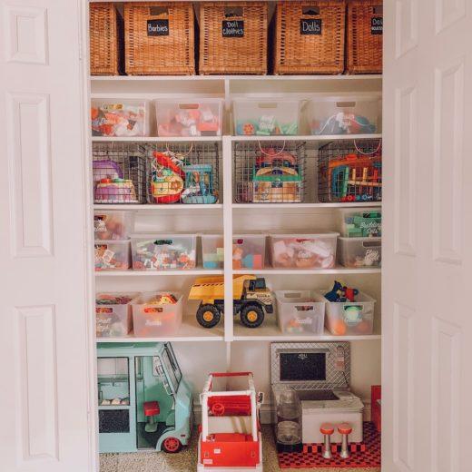 playroom closet ideas