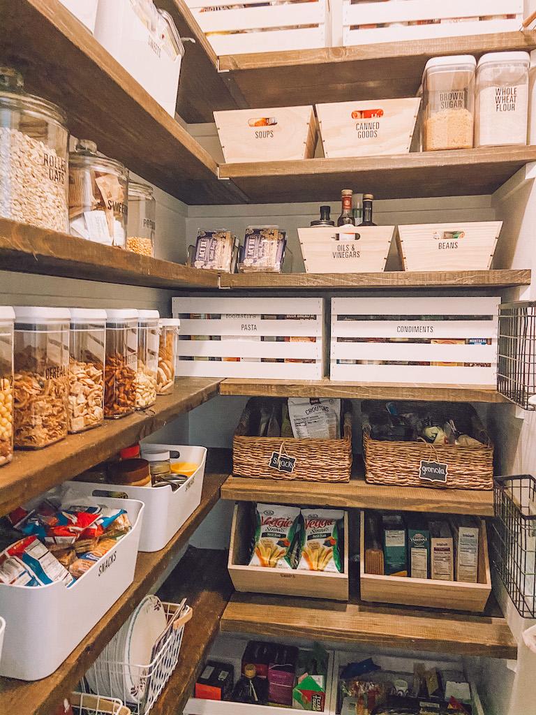 pantry storage labels