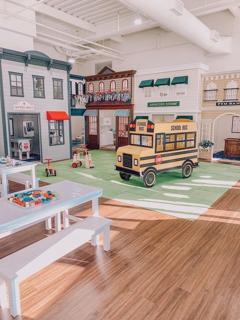the woodlands play street museum