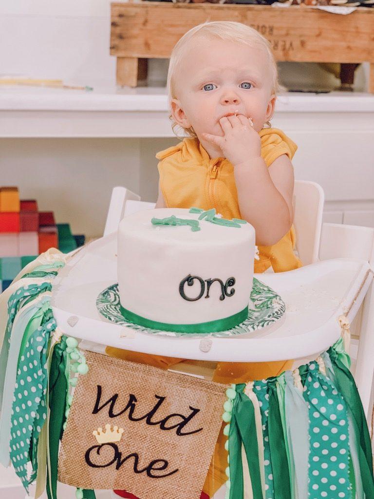 wild one birthday boy