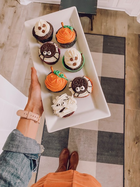 4 easy halloween cupcake ideas