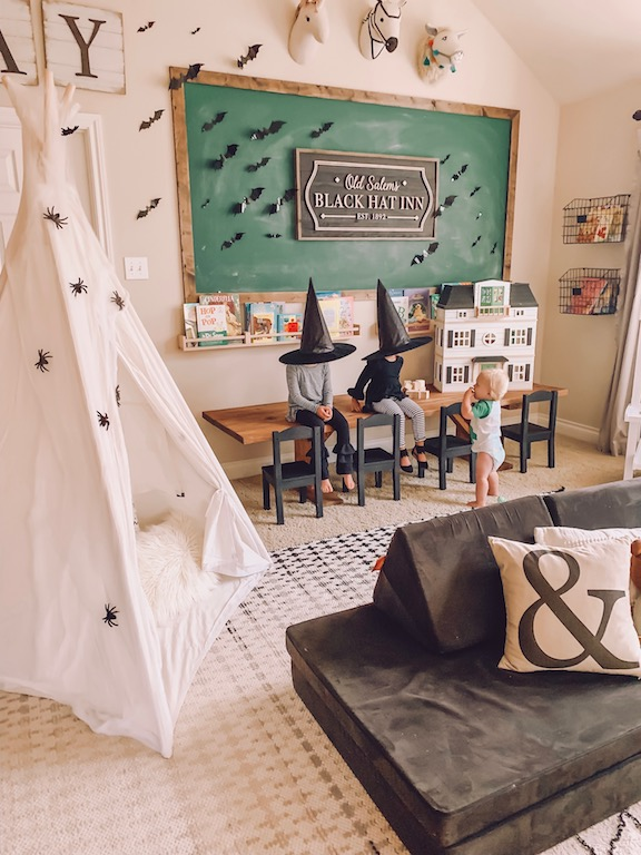 halloween playroom ideas