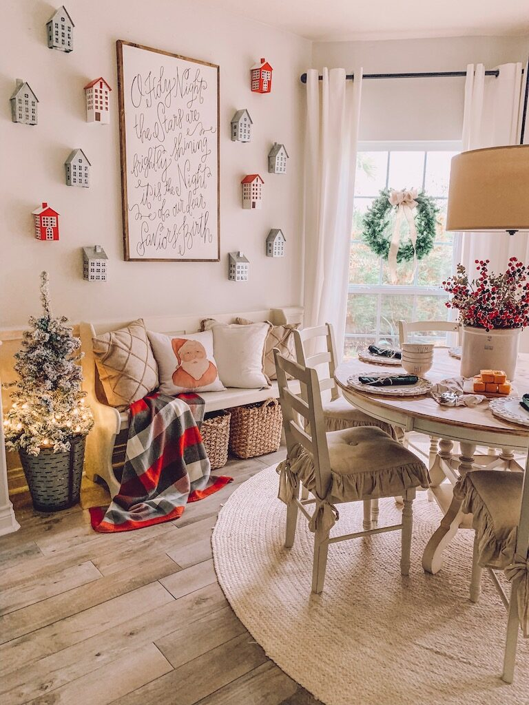 christmas kitchen decor wall