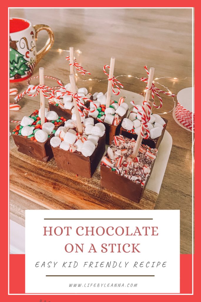 hot chocolate on a stick easy kid friendly recipe