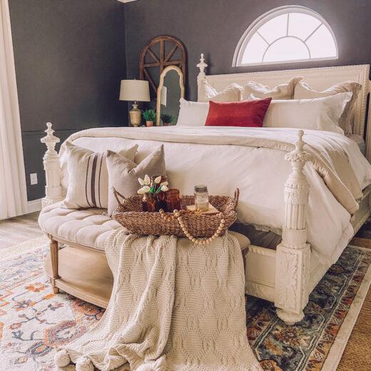 moder farmhouse bedroom decor