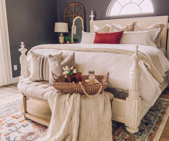 moder farmhouse bedroom decor