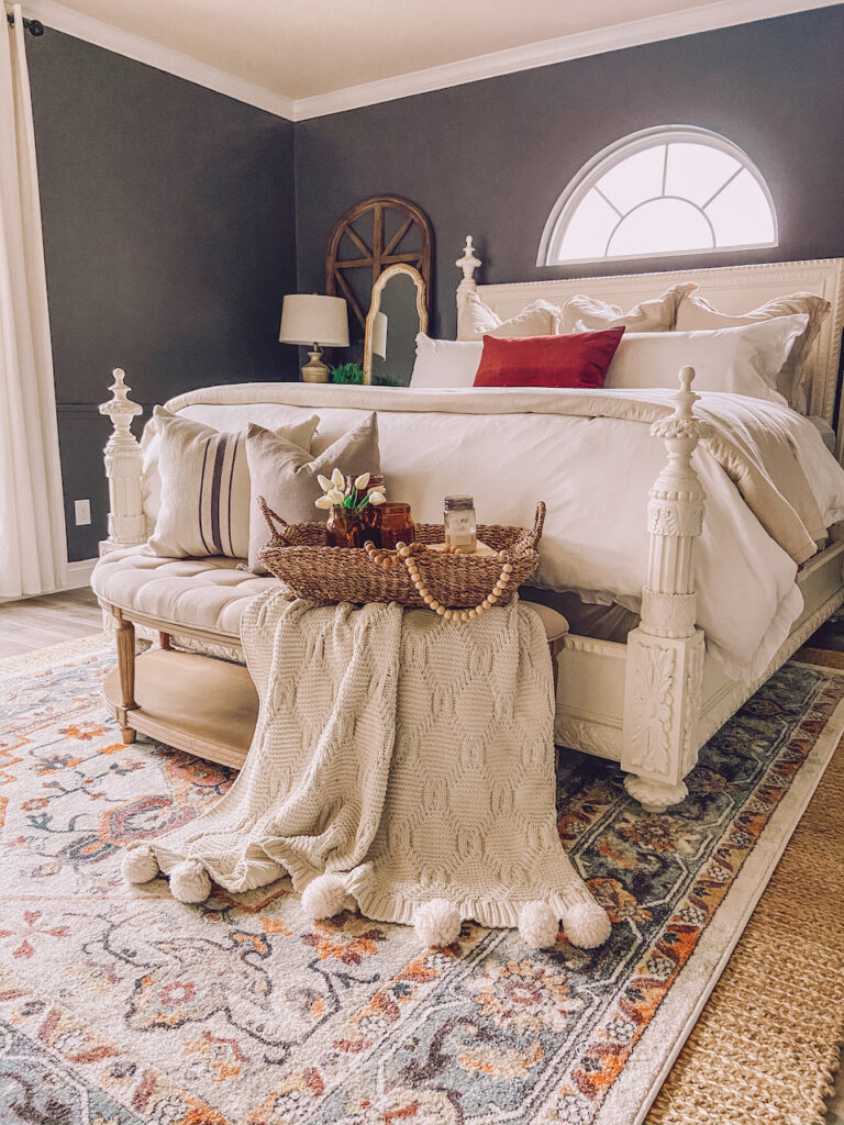A Modern Farmhouse Bedroom Refresh With Sixpenny Life By Leanna