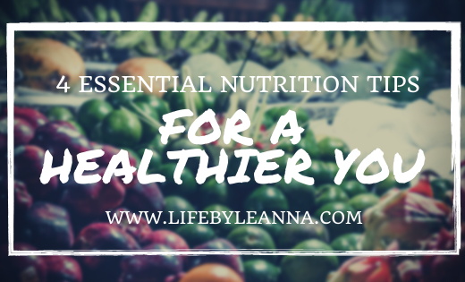 nutrition tips for a healthier you
