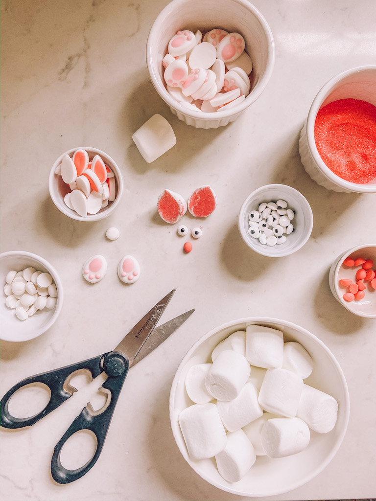 bunny cupcake supplies