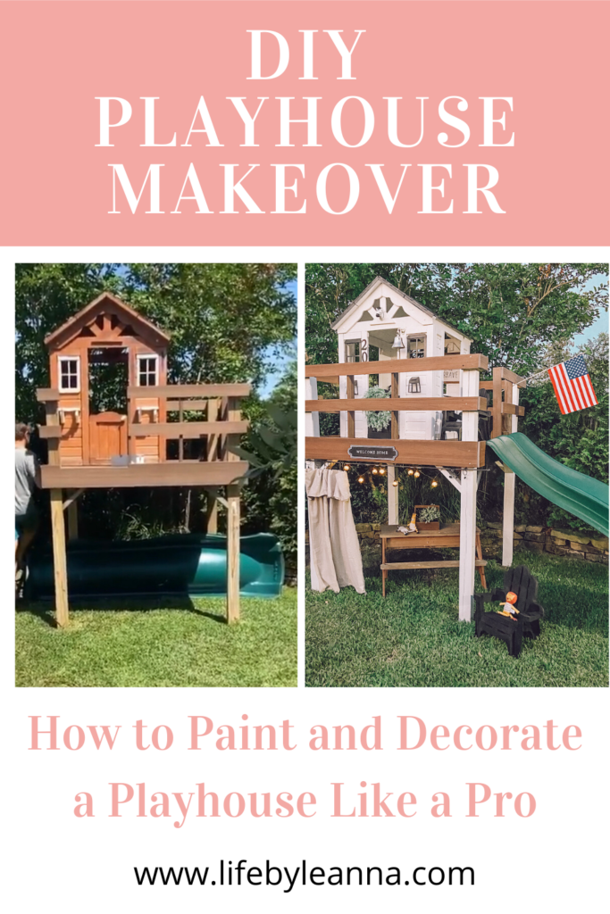 how to paint your playhouse