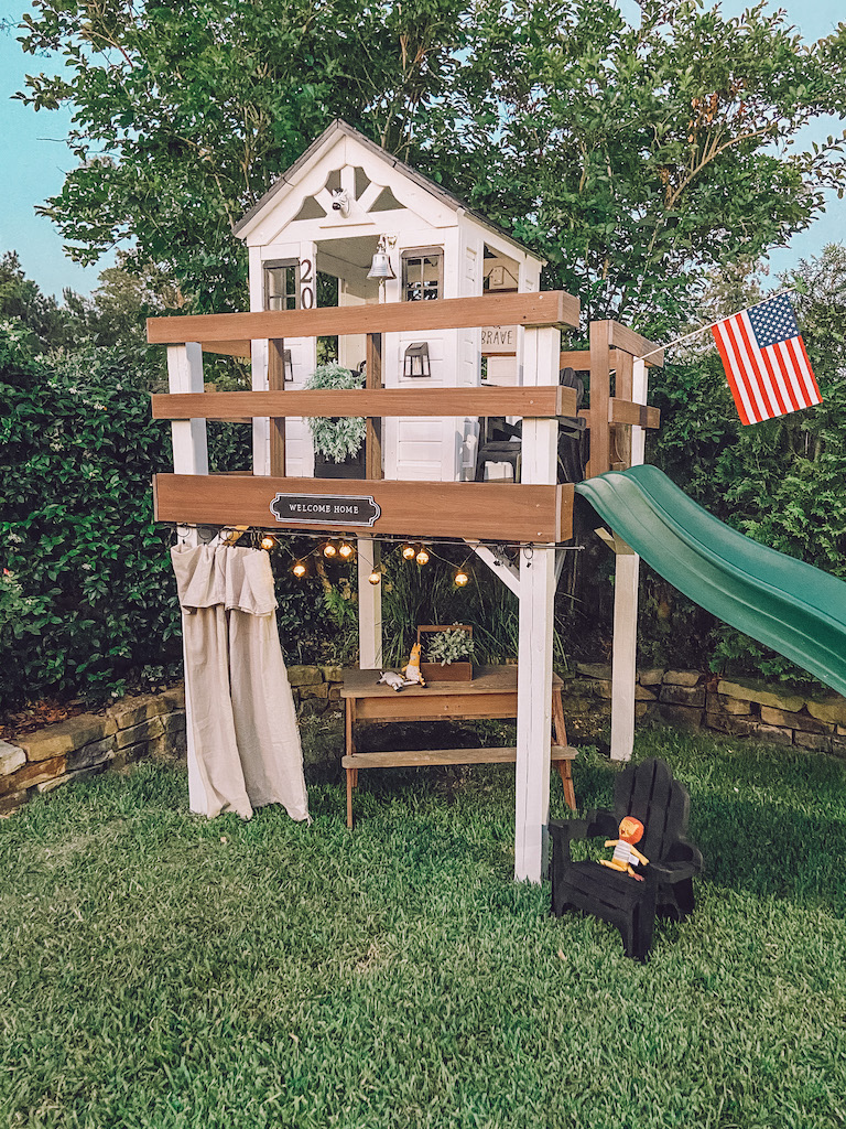 kids playhouse diy