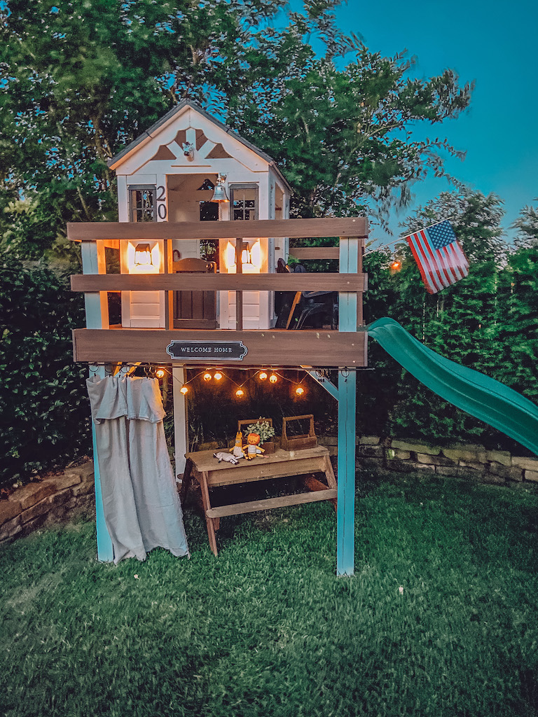 diy playhouse makeover