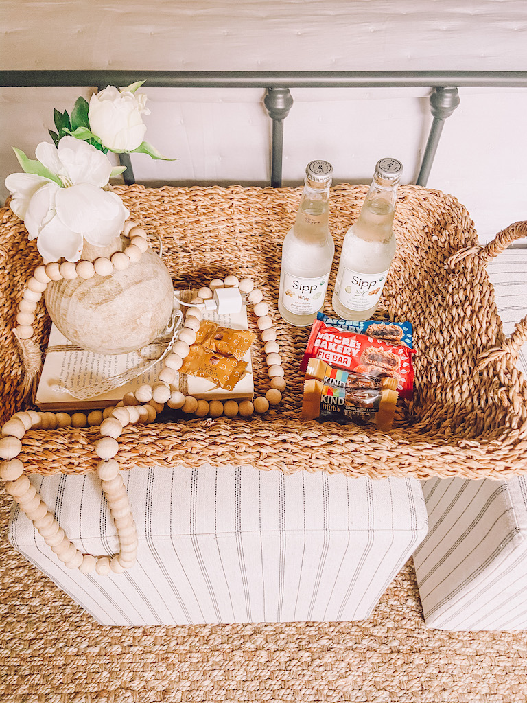 guest room snacks