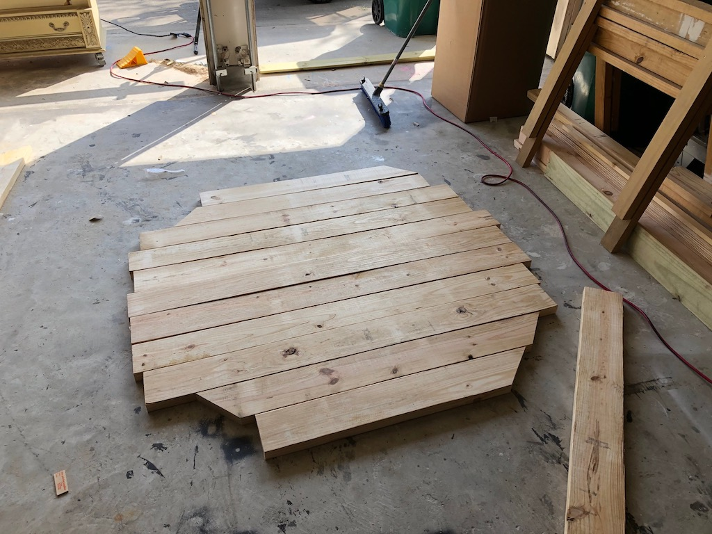 Diy Round Farmhouse Table With Free Plans Life By Leanna