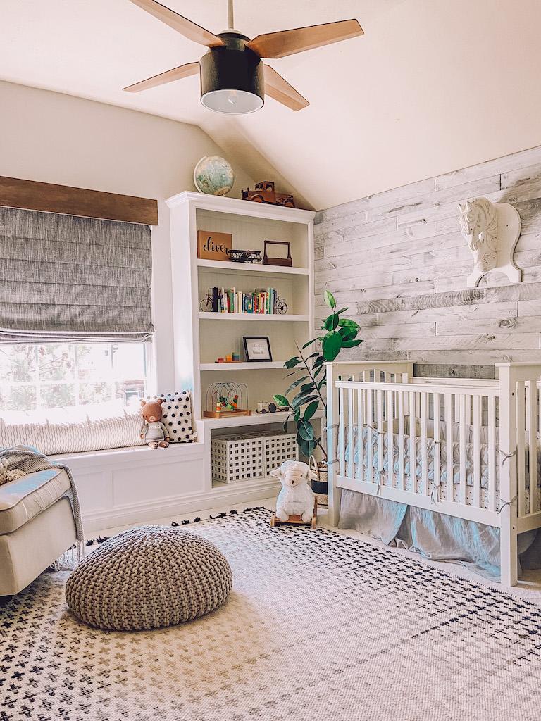 modern boy nursery