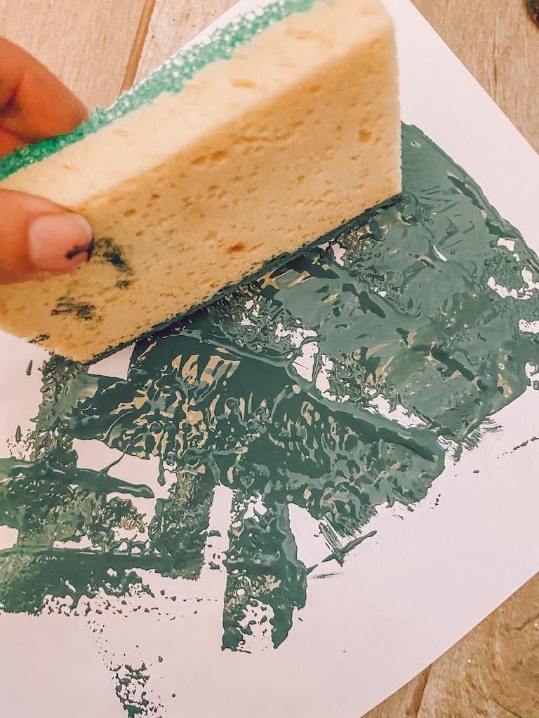 sponge paint