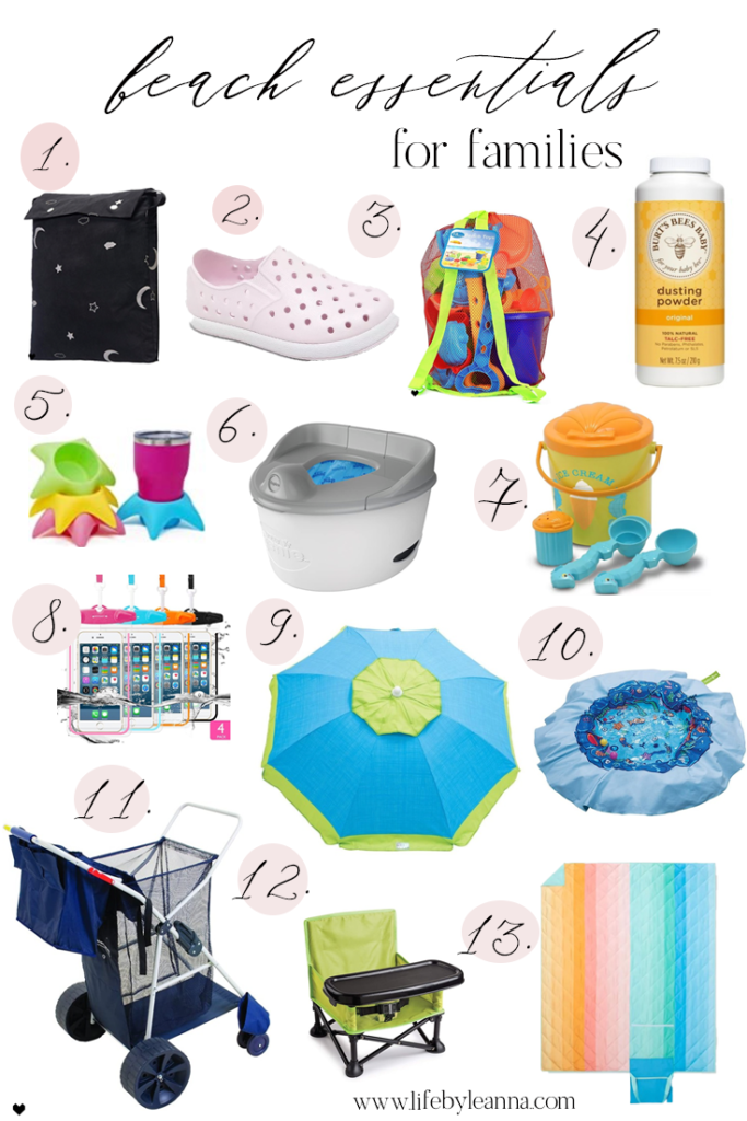 beach essentials for kids