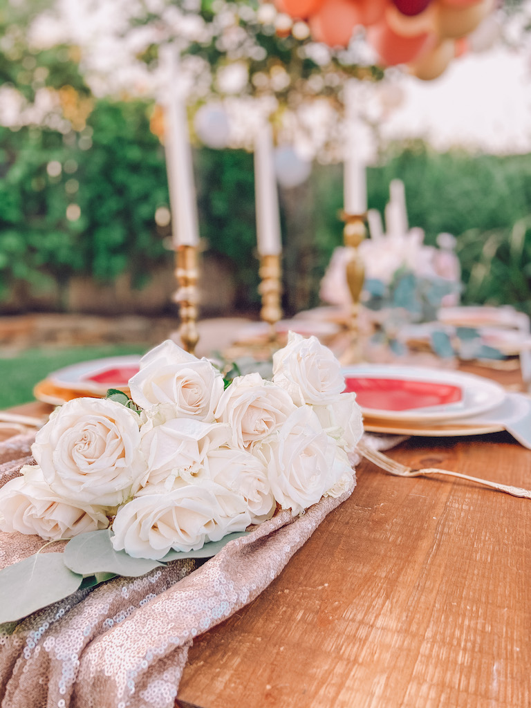 outdoor bohemian party for girls