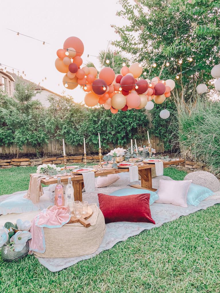 summer party boho ideas
