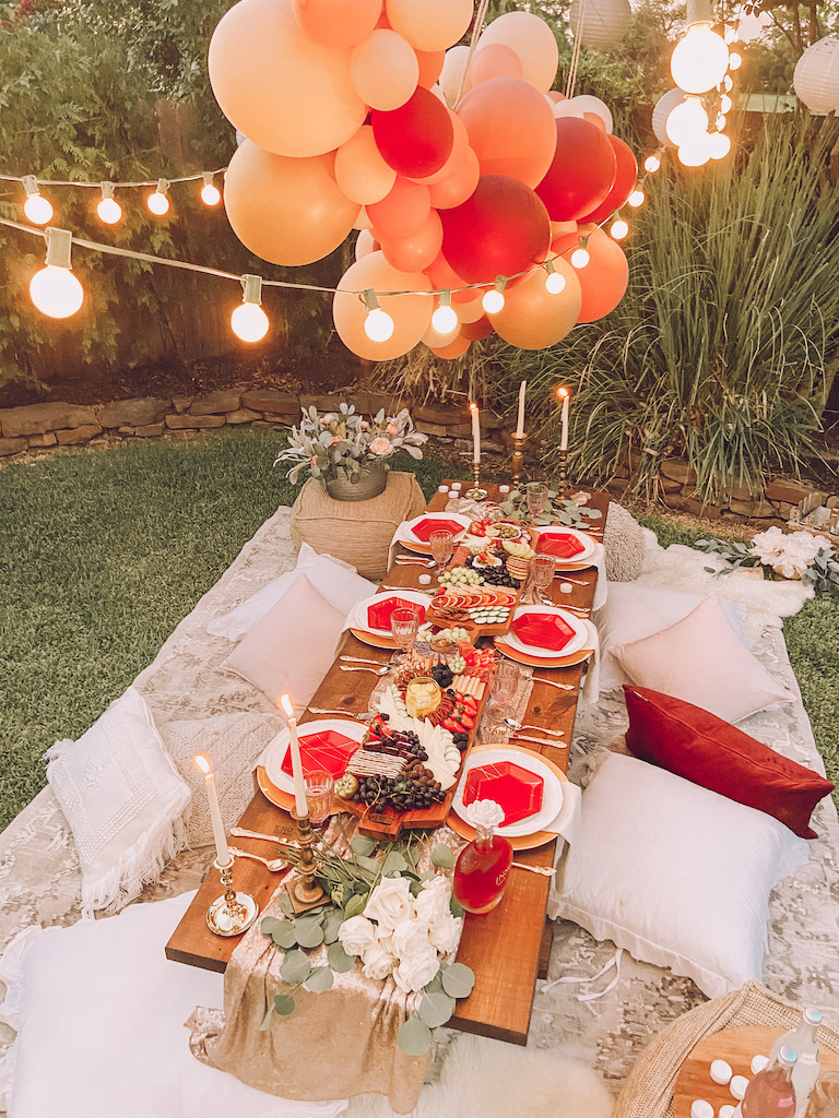 outdoor party bridal shower