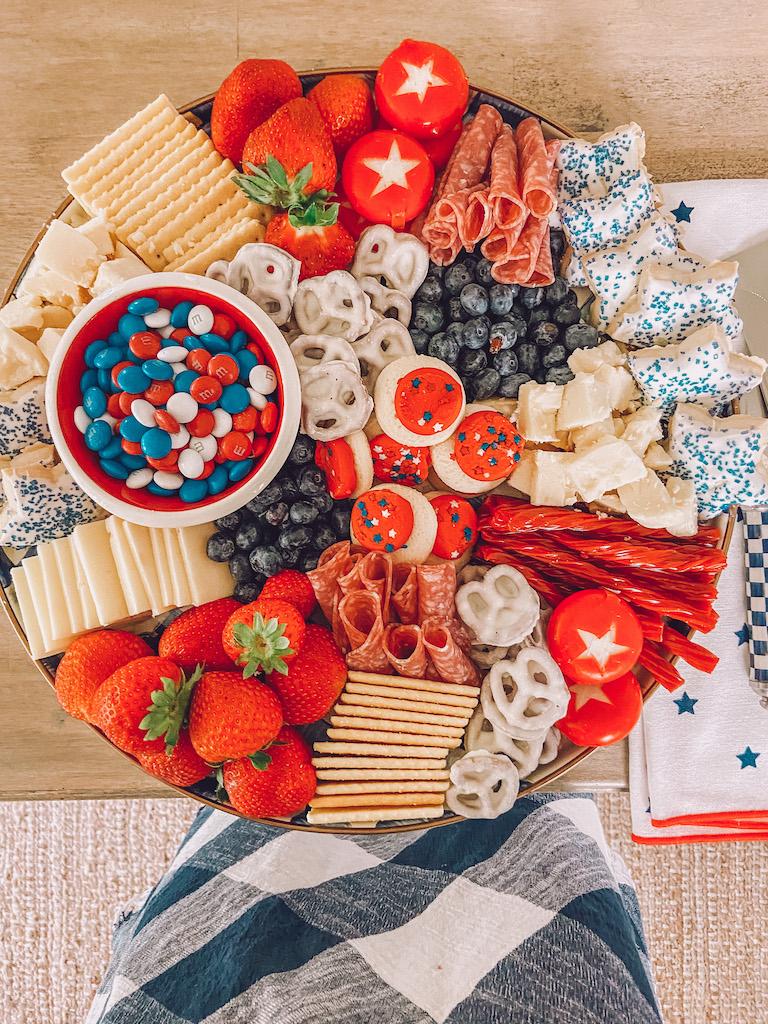 4th of july easy dessert idea