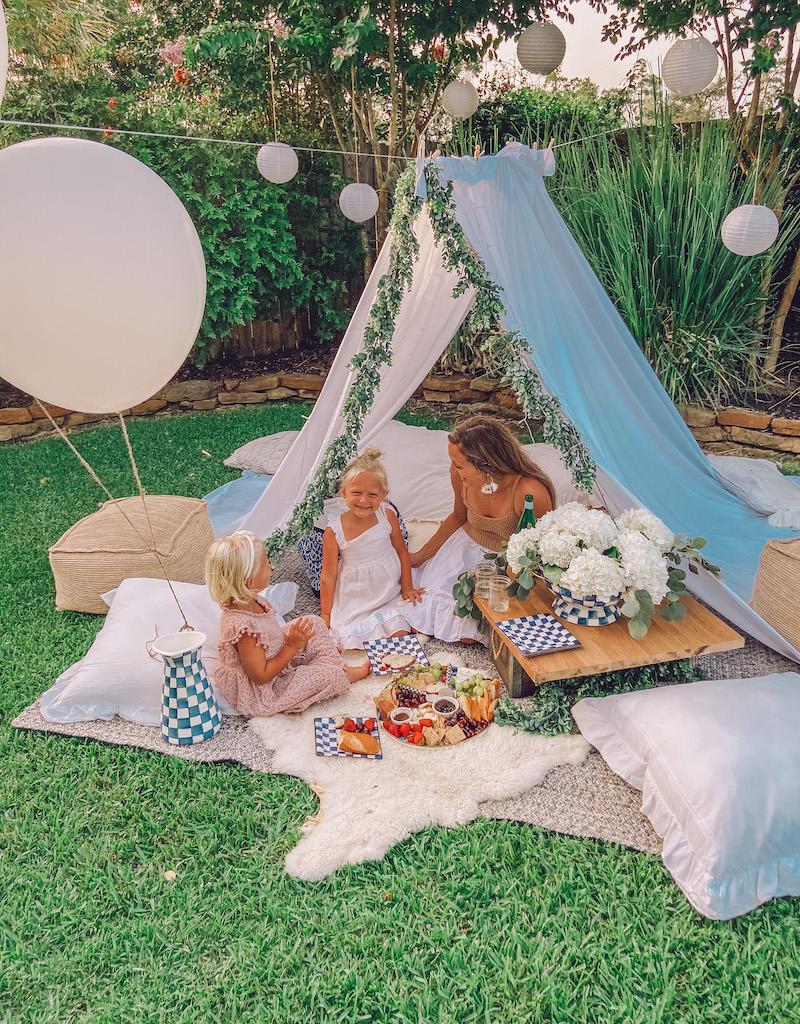 summer outdoor picnic ideas