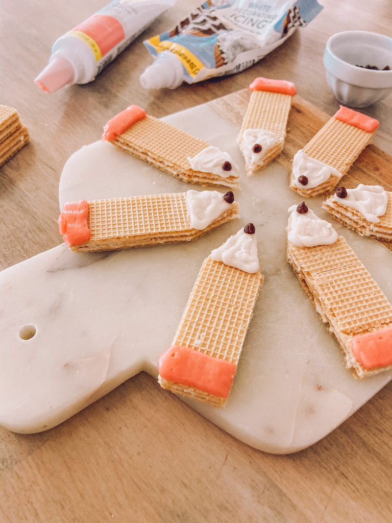 back to school sugar wafer cookie