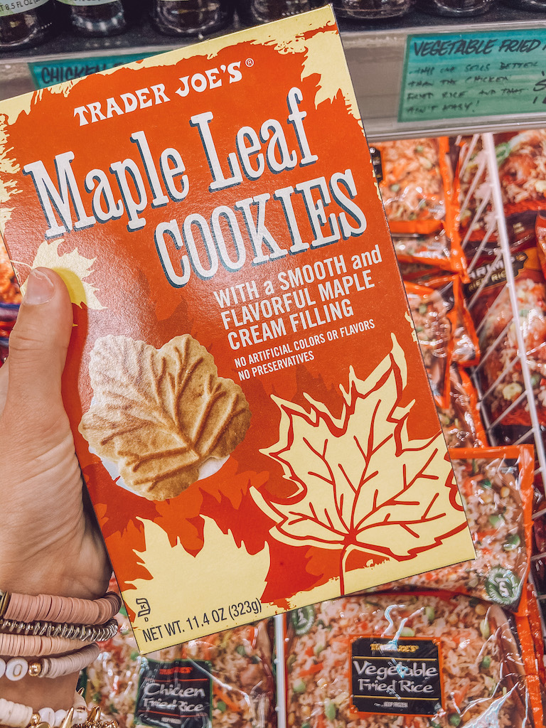 fall maple cookies