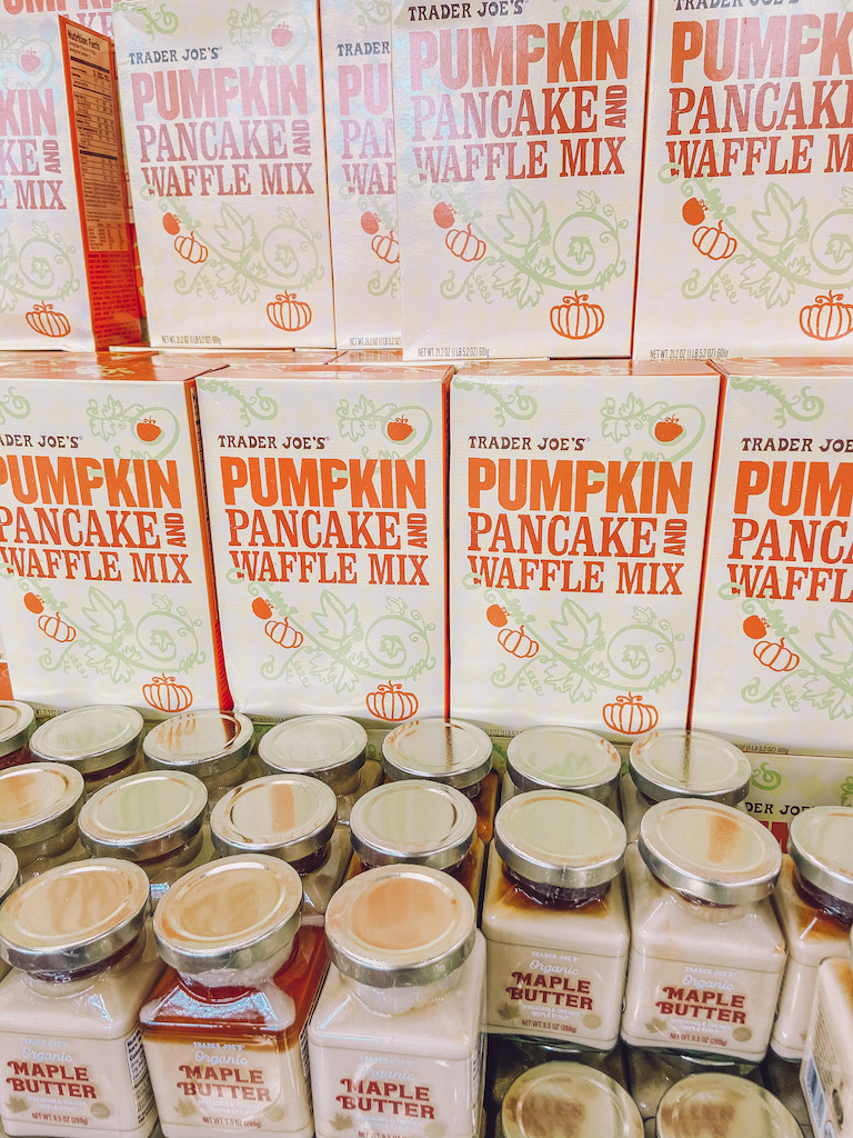 trader joe's fall pumpkin pancakes