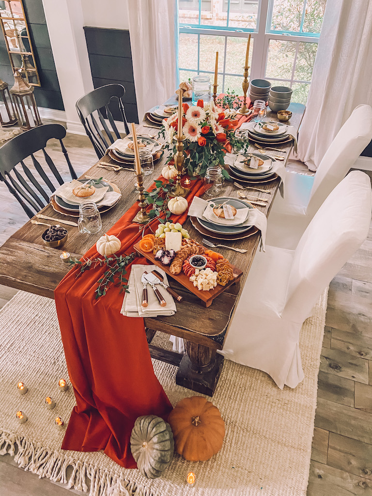 simple elegant table decor