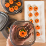 mini pumpkin spice donut