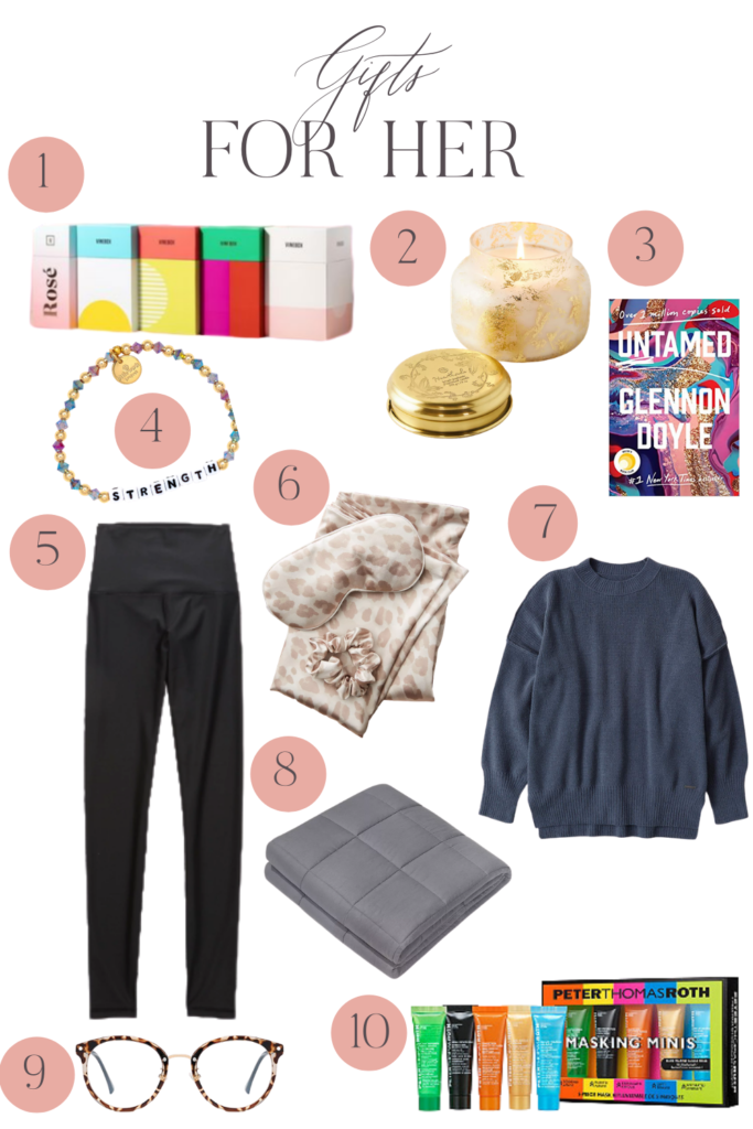 womens holiday gift guide 2020
