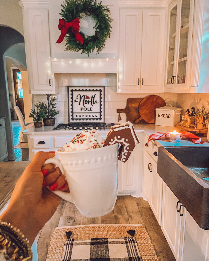 Easy Diy Mini Gingerbread House Mug Topper Life By Leanna