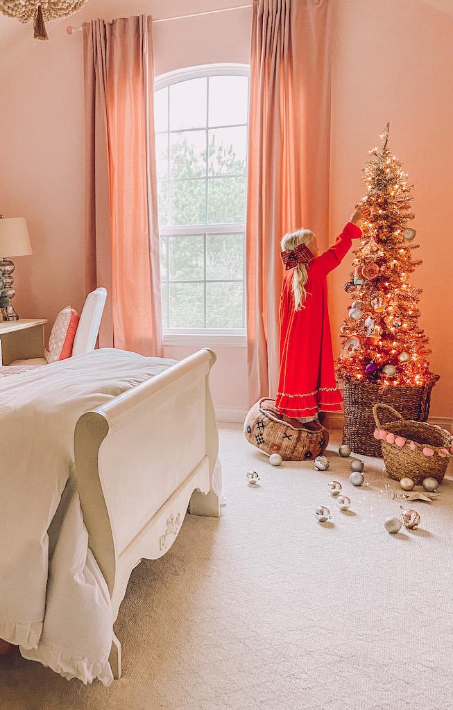 christmas decor kids room