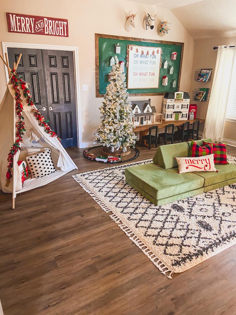playroom kids christmas