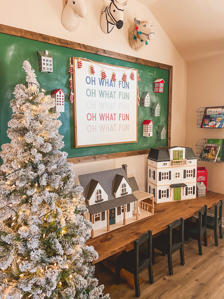 christmas playroom ideas