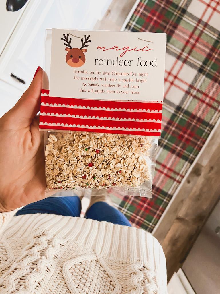 diy reindeer food