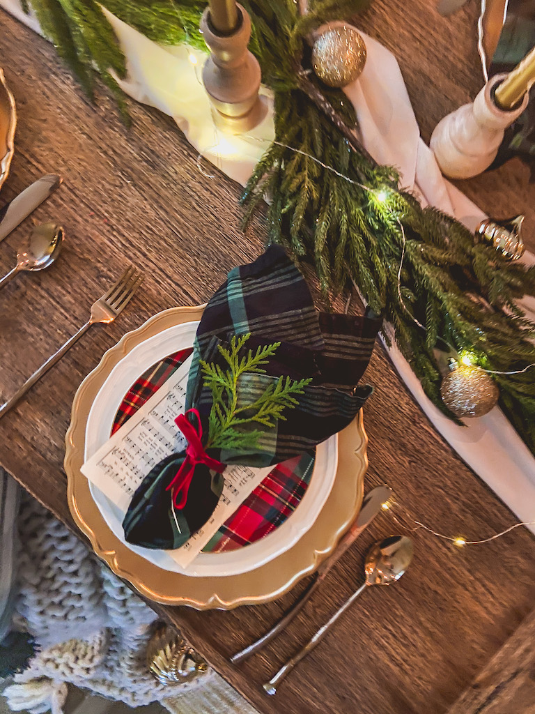 christmas napkins easy
