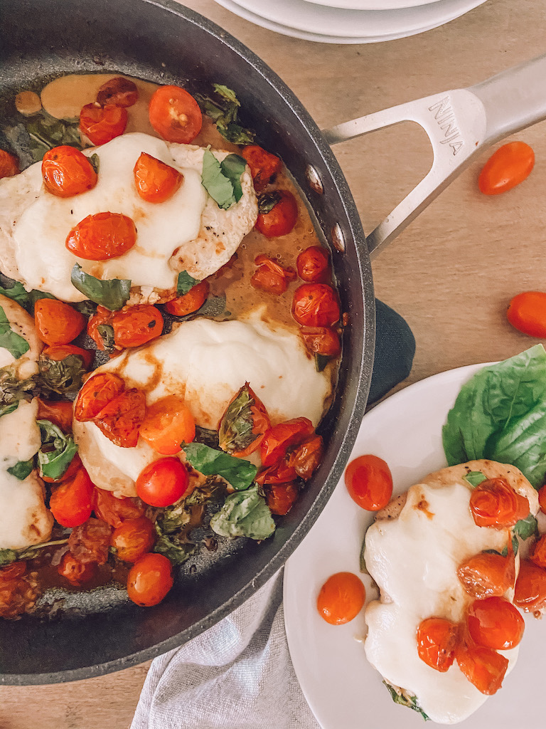 easy caprese chicken