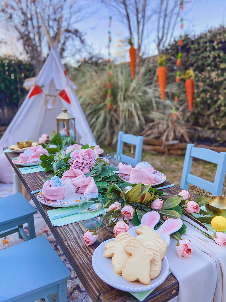 kids easter decor