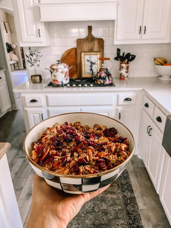 handmade granola recipe