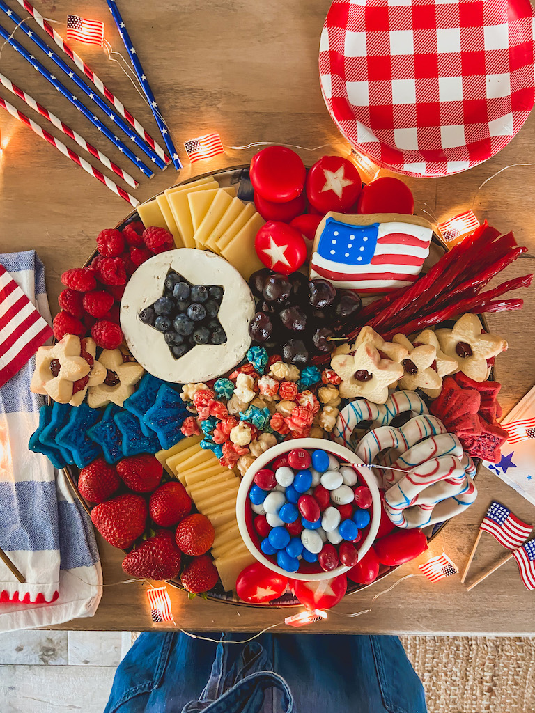 4ht of july cheese board