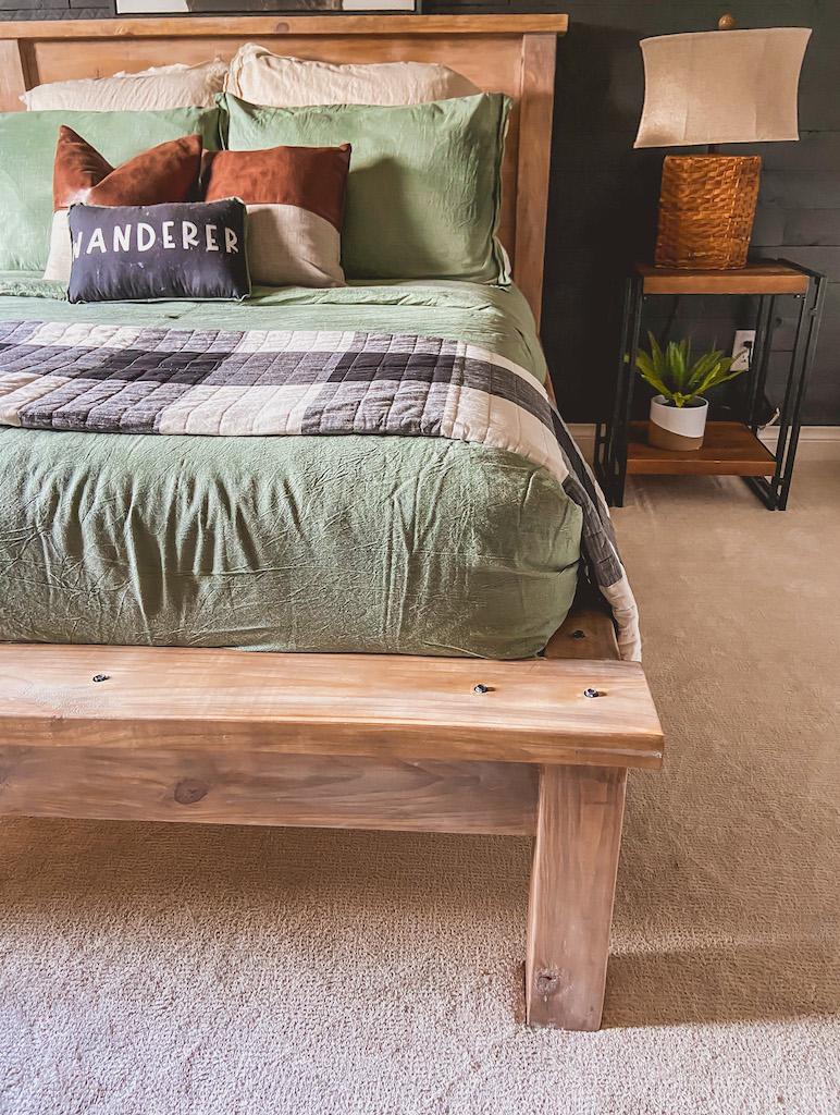 diy modern farmhouse bed